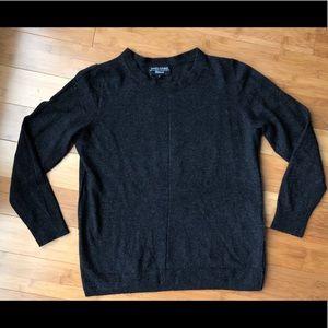 Banana Republic Grey Wool Crewneck Sweater XL